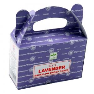 Satya Backflow Cones - Lavender