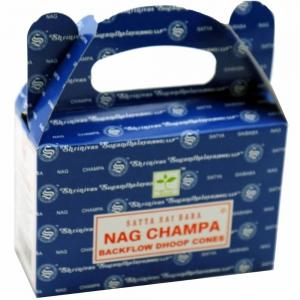 Satya Backflow Cones - Nag Champa