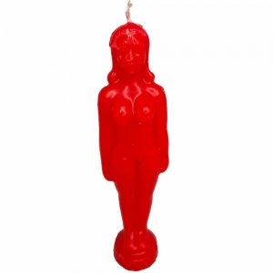 CANDLE - Lady Red 4cm x 18cm