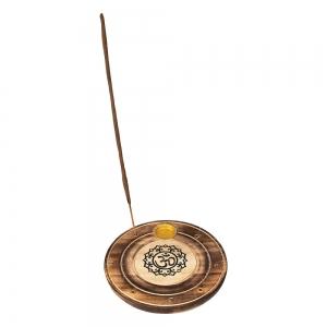 FLAT ROUND ASH CATCHER - Om 10cm (Set of 12)