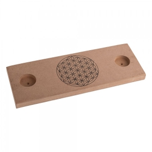 GRIDS - Flower of Life Board with Holder 14.5cm x 40cm
