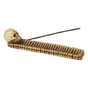 Skull with Bones Incense Burner