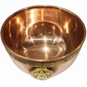 OFFERING BOWL - Copper Pentacle 7.5cm
