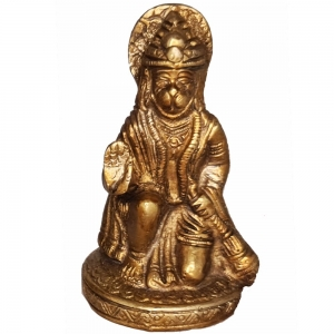 BRASS STATUE - Hanuman 9.5cm