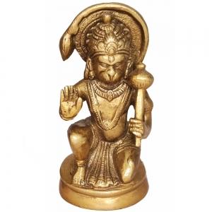 BRASS STATUE - Hanuman 11.5cm