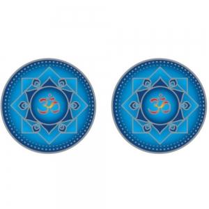 SUNLIGHT - Blue Om Mandala 6cm