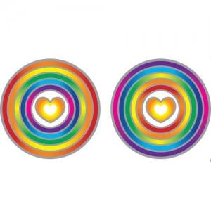 SUNLIGHT - Rainbow Heart 6cm