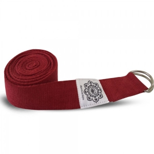 8ft Yoga Strap Red
