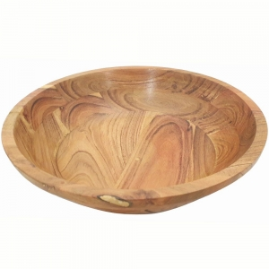 BOWL - Mango Wood 8cmx30cm