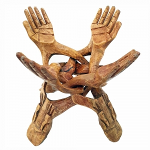 WOODEN STAND - 4 Legs 25cm