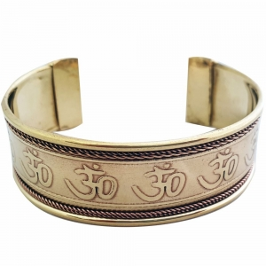 BRACELET - Copper Om (Pair of 2)