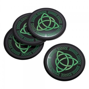 COASTER - Triquetra Print Iron 9cm Set