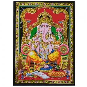 ALTAR CLOTH - Ganesh Cotton 75cm x 100cm
