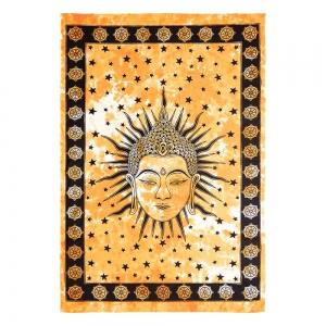 TAPESTRY - Buddha Head Tie Dye 150cm x 228cm