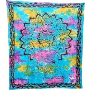TAPESTRY - Buddha Tie Dye 210cm x 235cm