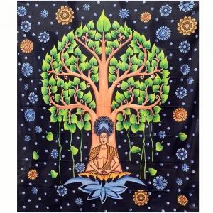 TAPESTRY - Buddha Bodhi Tree 210cm x 235cm