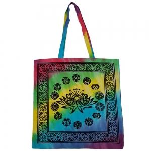 "7 Chakra Tote Bag 18""x18"""
