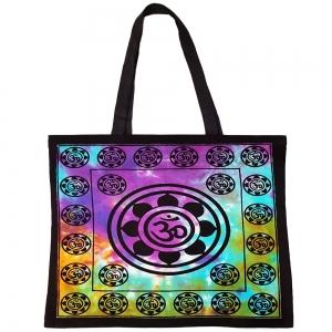 Om Lotus Tote Bag