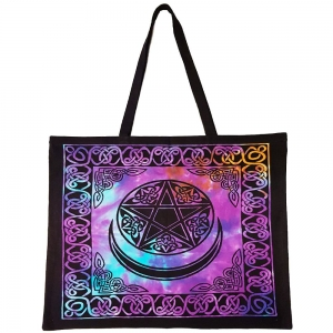 TOTE BAG - Pentacle with Moon 45cm x 45cm