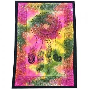 Dream Catcher Tie Dye Tapestry 140cm x 200cm