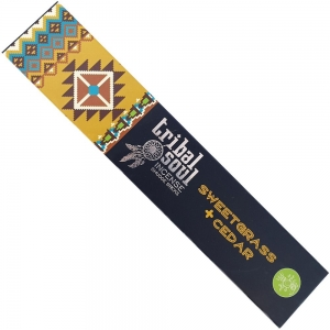 Tribal Soul Cedar & Sweetgrass Incense 15gms
