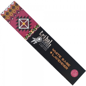 Tribal Soul White Sage & Lavender Incense 15gms