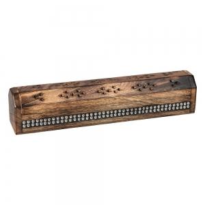 BOX INCENSE HOLDER - Coffin Beaded