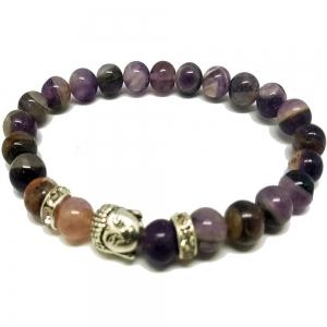 Amethyst Healing Buddha Bracelet