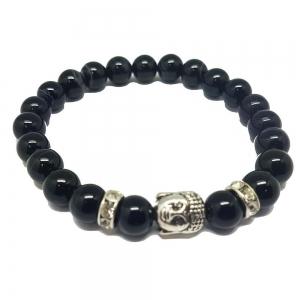 Agate Balance Buddha Bracelet