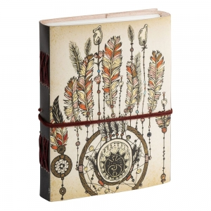 JOURNAL - Dream Catcher Leather Printed 17.7cm x 12.7cm