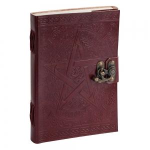 JOURNAL - Pentagram Leather Embossed 22.8cmx 15cm