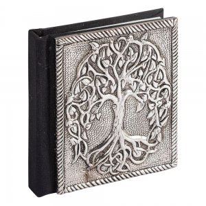 JOURNAL - Aluminium Tree Of Life 7.6cm x 10cm