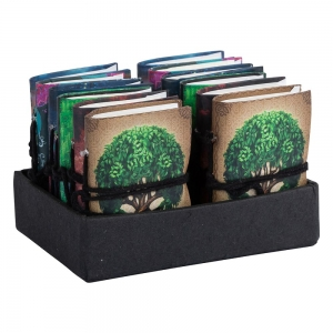 JOURNAL - Printed Paper Assorted 7.5cm x 10cm (Set of 12)
